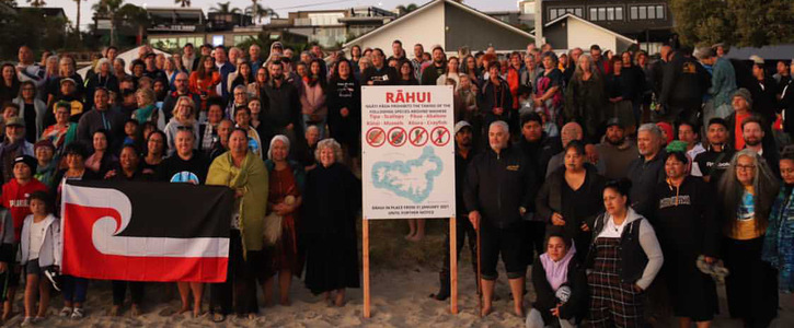 Respect The Rāhui - Supporting the protection of our Oceans