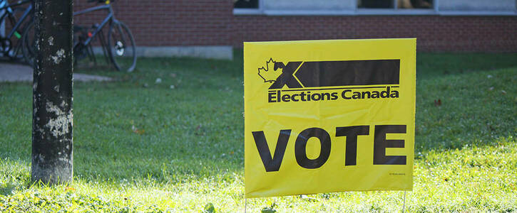 Elections Canada: Open Voting Booths and Special Balloting on Campus!