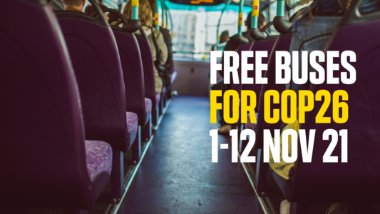 Make West Yorkshire buses free for the duration of the COP climate talks: Tracy Brabin