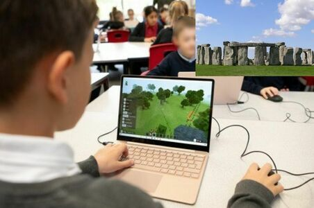 Minecraft say no to National Highways indoctrination