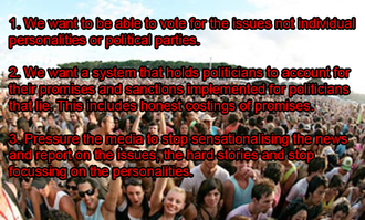 Change the Political System in Australia