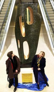 Put back Wolverhampton's Hepworth sculpture!