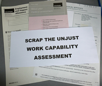 Scrap the unjust Work Capability Assessment