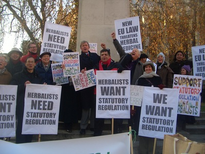 Save the practice of  herbal medicine in the UK