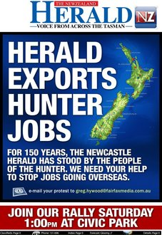 Save the Newcastle Herald.