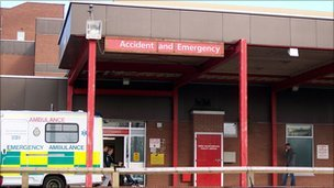 Reopen the University Hospital of Hartlepool A&E
