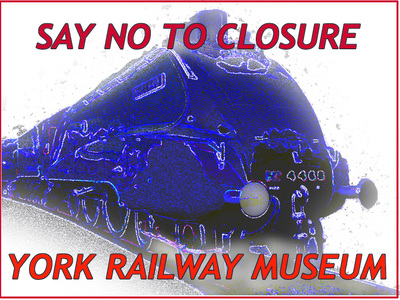 SAVE YORK RAILWAY MUSEUM