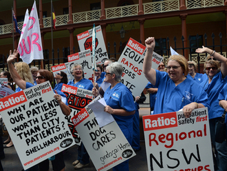 Mandate NSW Nurse-Patient Ratios