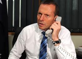 Mr Abbott: the conscience vote is calling