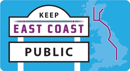 No more rail privatisation - keep East Coast public