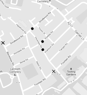 Better, safer, people-friendly streets for Smallwood Road / Fountain Road residents