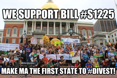 Make Massachusetts the First State to Divest from Fossil Fuels!