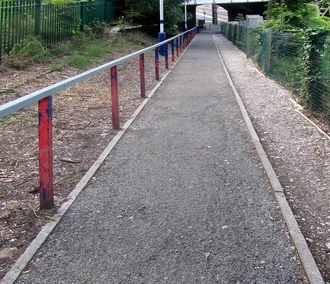 Disabled Access at Heaton Chapel Station, Stockport, Gt. Manchester.