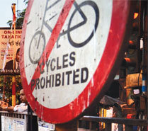 Withdraw Order Banning Cycles from 38 Kolkata Roads