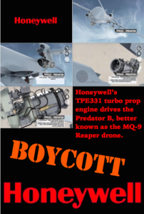 Tell Honeywell International, Inc. to Stop Profiting from the US Drone War