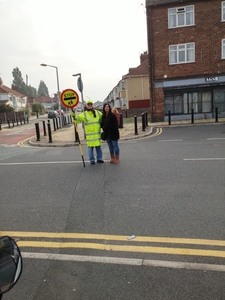 keep our lollipop man