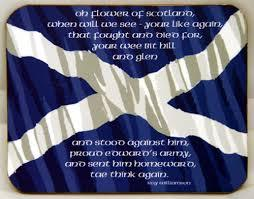 MAKE FLOWER OF SCOTLAND, SCOTLANDS OFFICAL NATIONAL ANTHEM