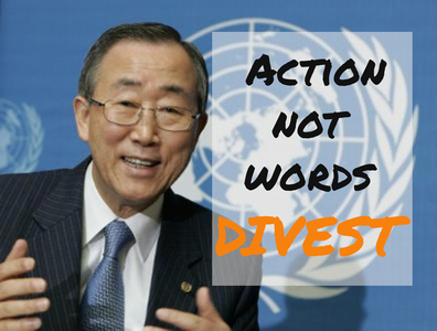 Divest the UN Joint Staff Pension Fund from fossil fuels
