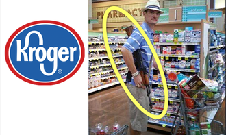 Groceries, Not Guns at Kroger