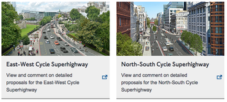TFL's Cycle Super Highway meeting needs a neutral Chair