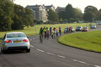 Safe Cycling for Kids on Bristol Downs