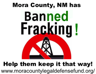 Support Mora County's Fracking Ban