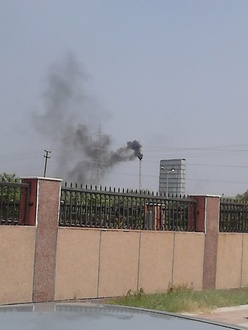 Pollution in Greater Noida - Green Belt
