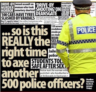 Stop cuts and improve conditions for our UK Police Force