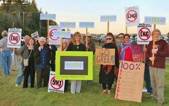 Stop LNG Exports in Oregon!