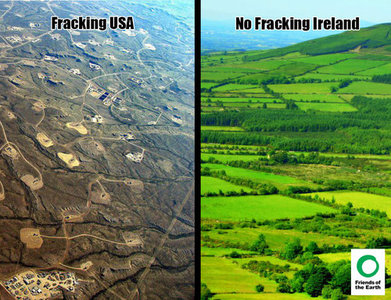 Stop Fracking in Scotland. Keep our landscape clean and fresh!