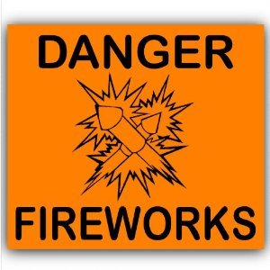 Make fireworks available for organised displays only