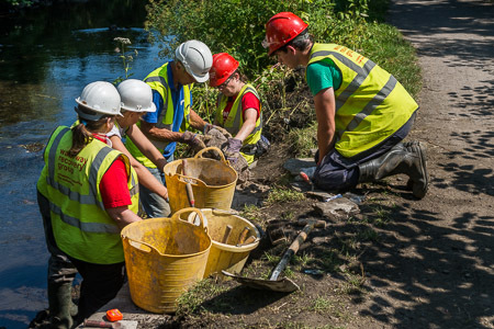 Help us reclaim 100 yards of the Swansea Canal.