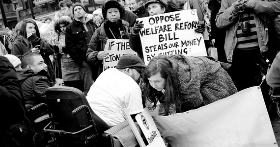Stop the cuts to benefits for disabled people, as outlined in the welfare reform bill