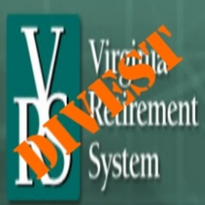 LEESBURG VA RESOLUTION REQUESTING DIVESTMENT OF THE VIRGINIA RETIREMENT SYSTEM FROM FOSSIL FUELS