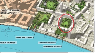 New Look For Admiralty Square / Pepys Estate