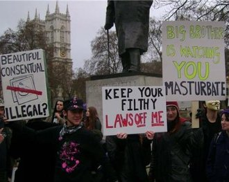 Bound-by-law. Against sexually repressive legislation.