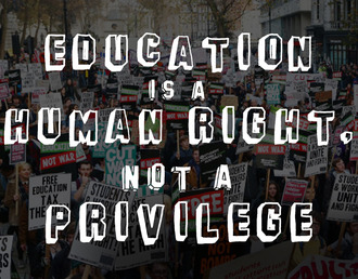 Free Education for all: no fees, no cuts and no debt