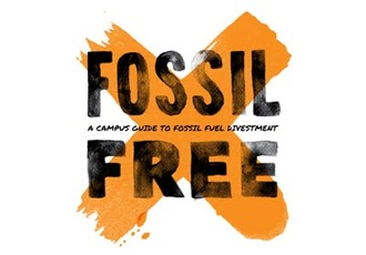 Fossil free booklet cover