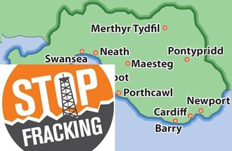 SAY NO TO FRACKING IN SOUTH WALES