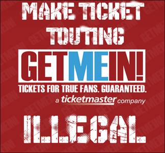 Make Ticket Touting Illegal