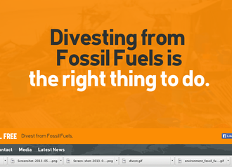 Dunedin City Council: Be the first NZ city to Divest from Fossil Fuels