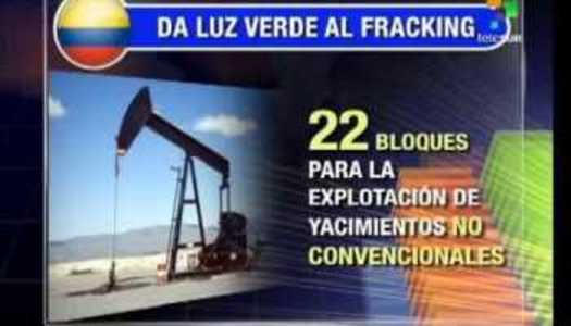 Diga NO al FRACKING en COLOMBIA