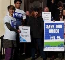 Save our Hertfordshire bus services