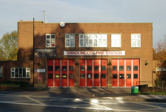 Swadlincote Fire Station - Stop The Cuts