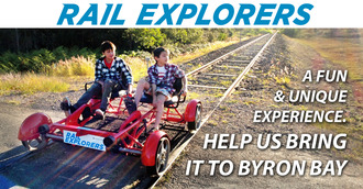 Support Rail Explorers Byron