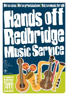 Hands off Redbridge Music Service